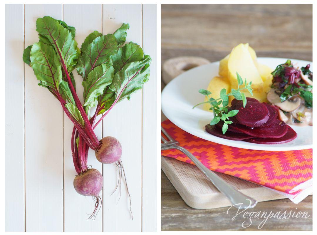 Leichte Vegane Sommerküche : Veganpassion kräuter bete mit sahne seitlingen leichte
