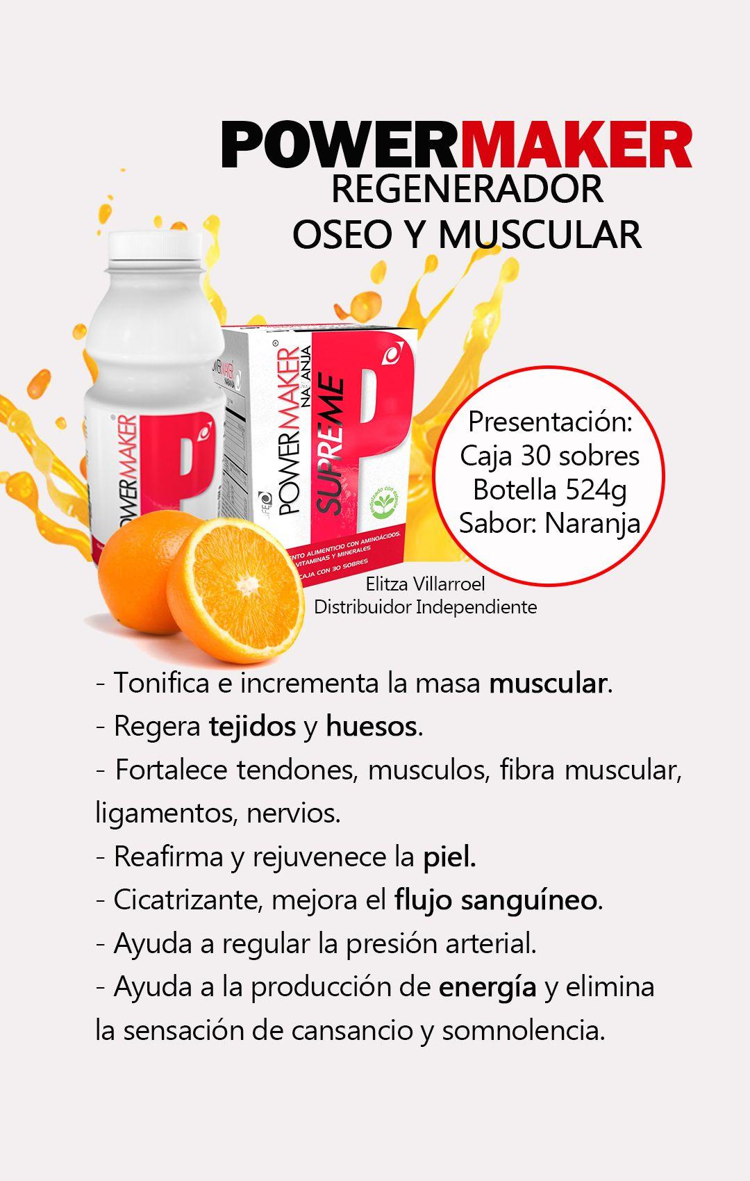 Powermaker Regenerador Oseo Y Muscular Omnilife Productos Para La Salud Estilos De Vida Saludable