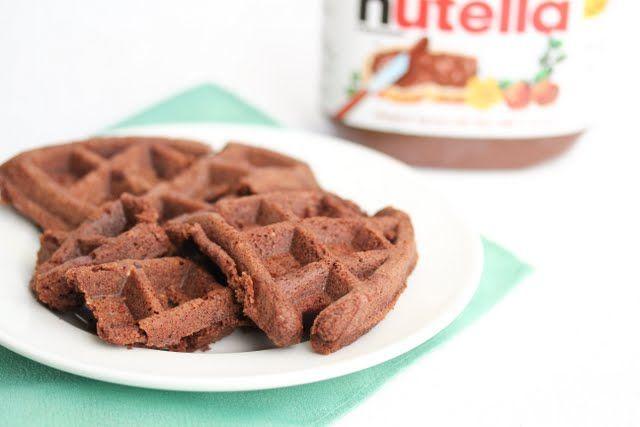 Nutella Waffle Cakes