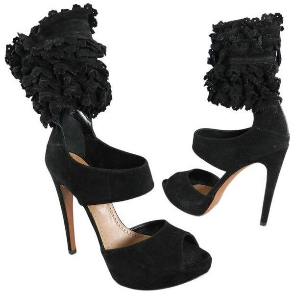 Pre-owned - Black Leather Heels Alaia 0bMjsLsOnr