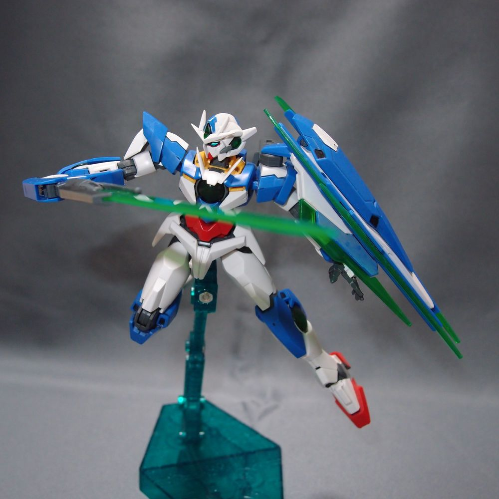 Bandai HG 1/144 GUNDAM 00 QAN[T] EXIA assembled Setsuna F Seiei model kit Gunpla #Bandai
