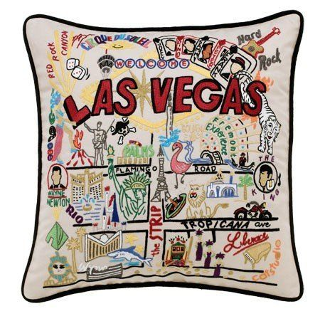 Home Decorators Collection | Catstudio Las Vegas Pillow Geography  Collection Home Dcor 111CS ** You