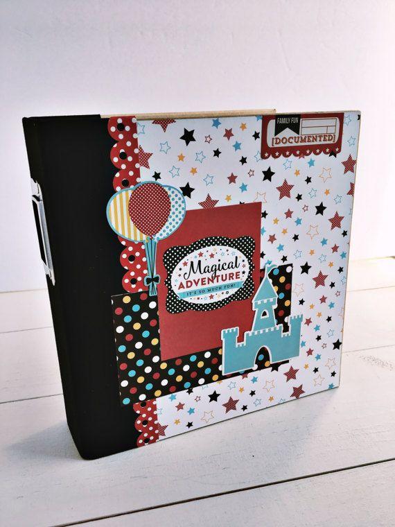 Disney Premade Scrapbook Album Disney Scrapbook Disney Mini Album