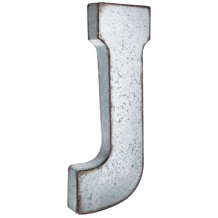 "Large Letter J For Wall J Large Galvanized Metal Letter  ""j""  Pinterest  Metals Wall"