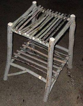 Willow Twig Furniture #twigfurniture