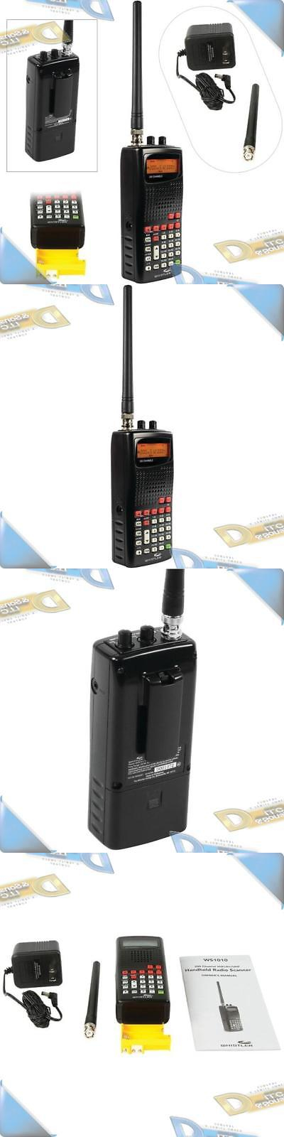 Scanners New Whistler 200 Channel Vhf Lo Hi Band Analog Portable Handheld Radio Scanner