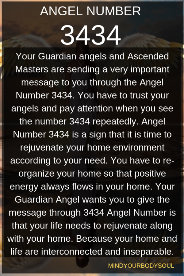 3434 Angel Number   Numerology   Angel numbers, Angel, Your