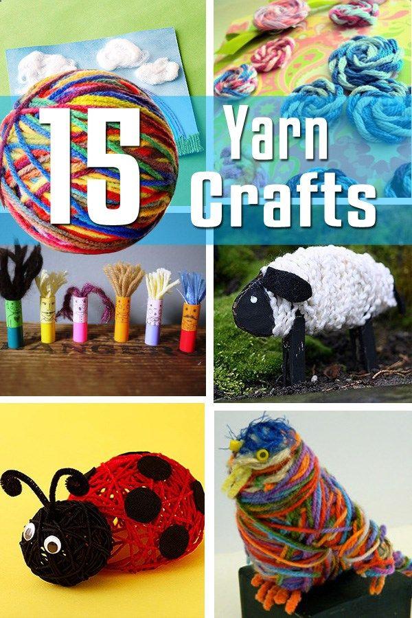 15 Yarn Craft Ideas