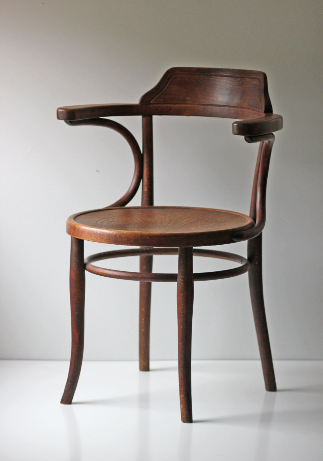 Exceptional Marked Thonet Cafe Bistro Bentwood Chair Via Etsy.