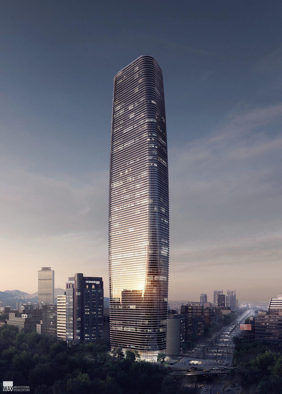 Reforma Tower on Behance