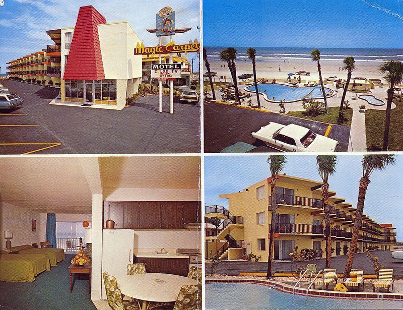Magic Carpet Motel Daytona Beach Fl Daytona Beach Magic Carpet Beach