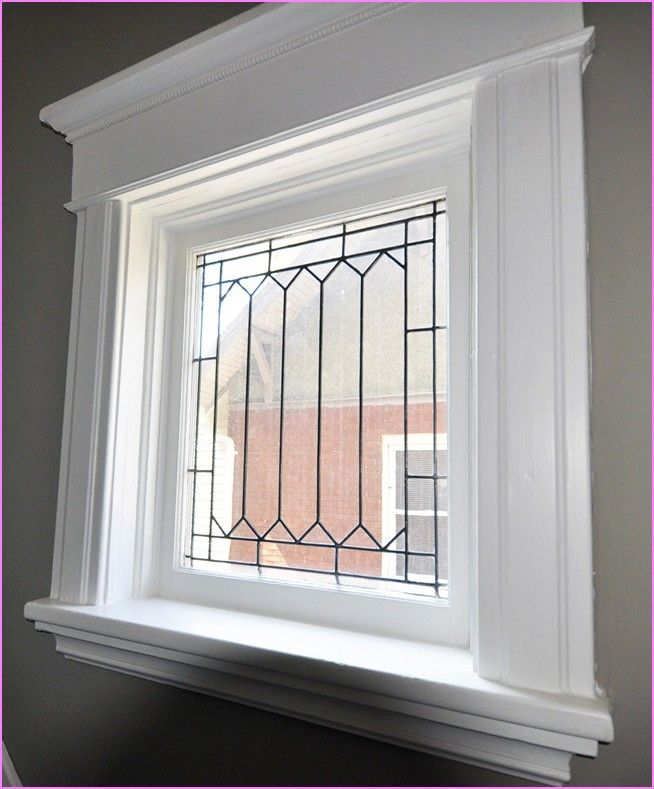 Image result for interior window trim ideas