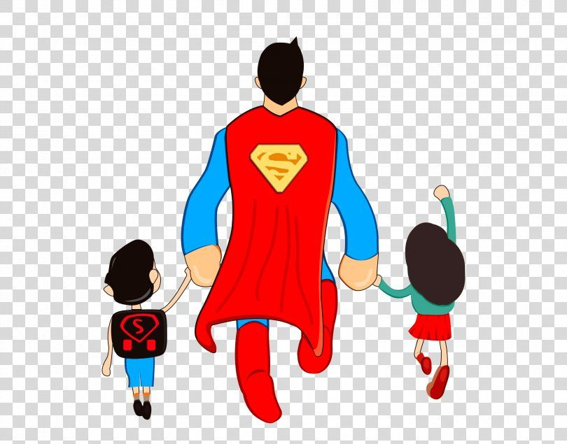 Fathers Day Sohu Love Aliexpress Superman Back Png Watercolor Cartoon Flower Frame Heart Super Dad Superman Father