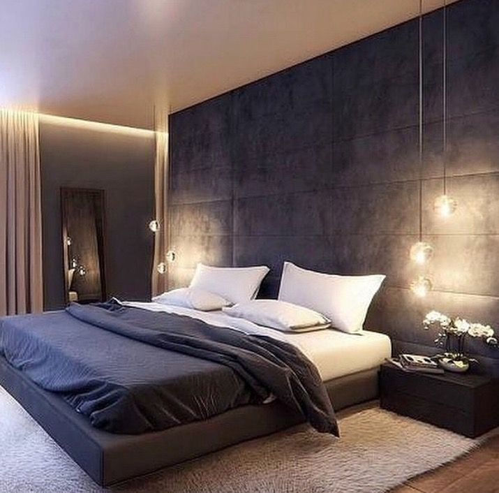 Bedroom Night Bedroom Ideas Wall Headboard Simple