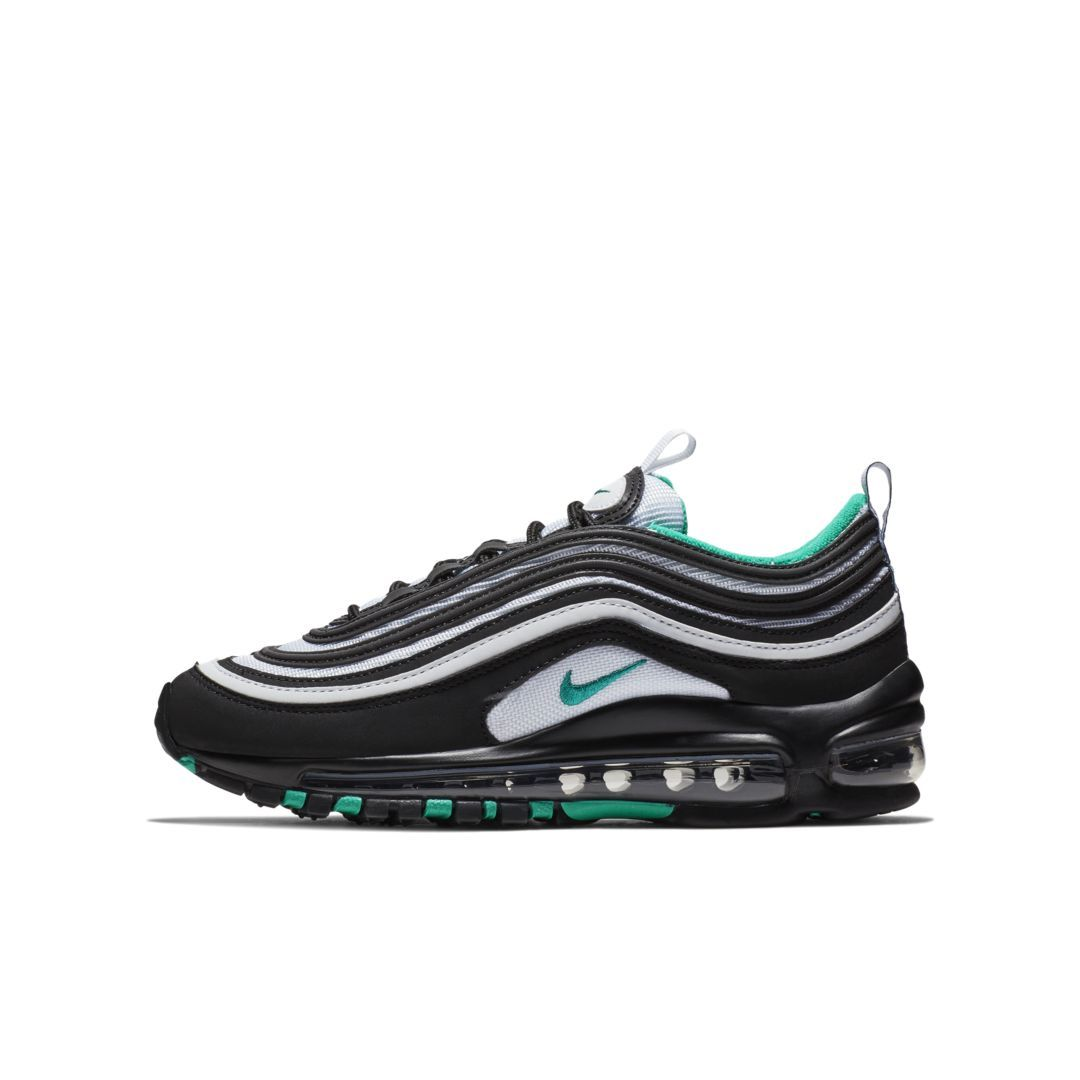 Nike Air Max 97 Big Kids  Shoe Size 6Y (Black)  9abad5a5a