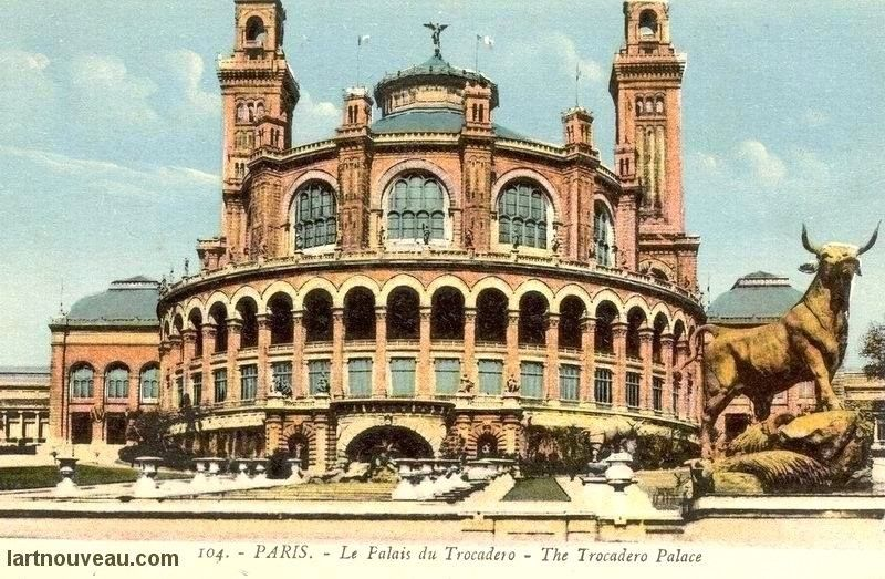 Le Palais Davioud (ancien palais du Trocadéro, Paris)