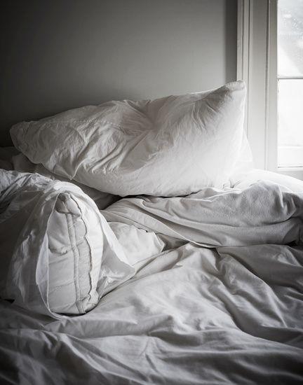 Christina Lane Interiors Cozy Bedroom Messy Bed Dream Bedroom