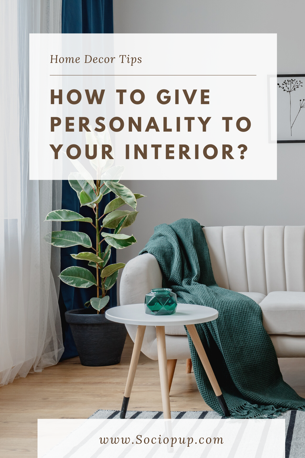 How to give personality to your interior?: There is nothing worse than an impersonal interior. You know this cold and soulless setting that immediately makes you want to leave it! In order to avoid this at home, I suggest you discover how to give personality to your interior. #interior #personaliseinterior #interiortips #interiordesigning #interiordesigntips #homedecortips #homedecorblog