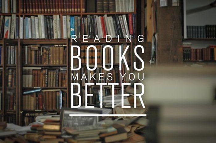 It feeds you - ja, ja, alleen spijtig dat de hoofdpijn bij een keelonsteking je niet zo boek-gezind maakt.
