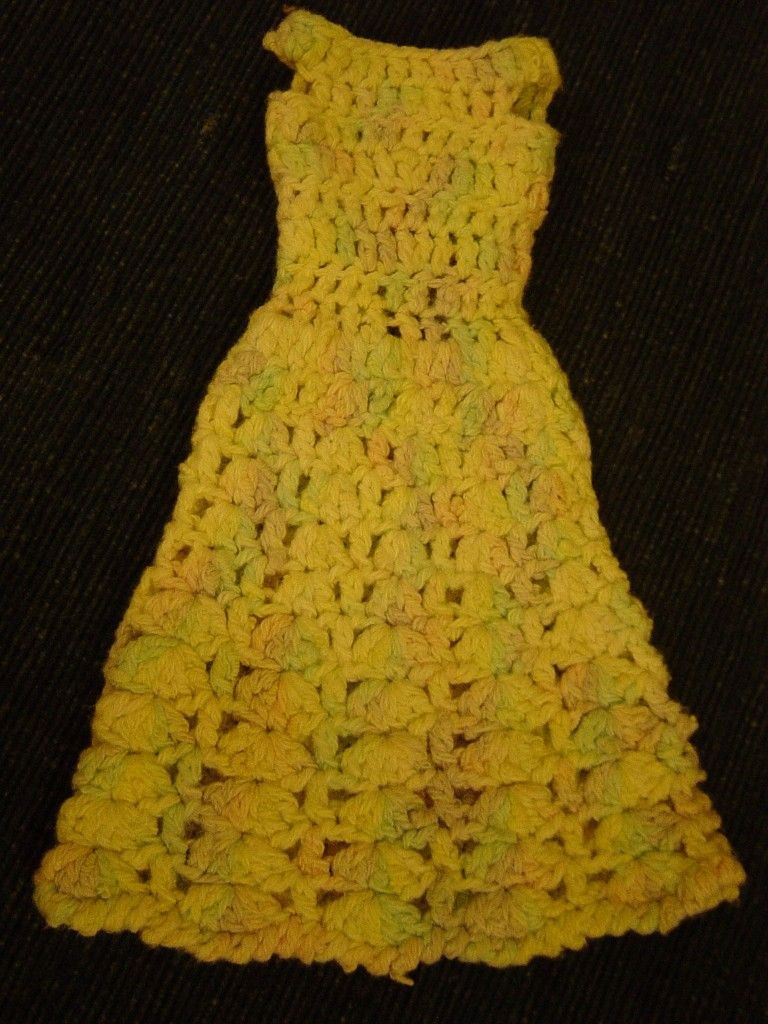 The old crochet barbie dress nanna pam made at flushed with rosy the old crochet barbie dress nanna pam made at flushed with rosy colour bankloansurffo Image collections