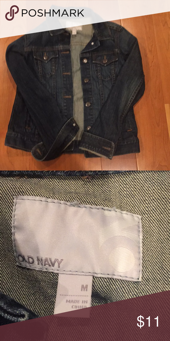 Jean Jacket Used Only Once No Flaws Old Navy Jackets Coats Jean Jackets