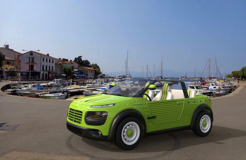 Citroën : Et si la Cactus M Concept avait été un vrai revival de la Méhari  #design #conceptcar #3d #france #voiture #car #citroen #conceptcars #concept #cars #citroen