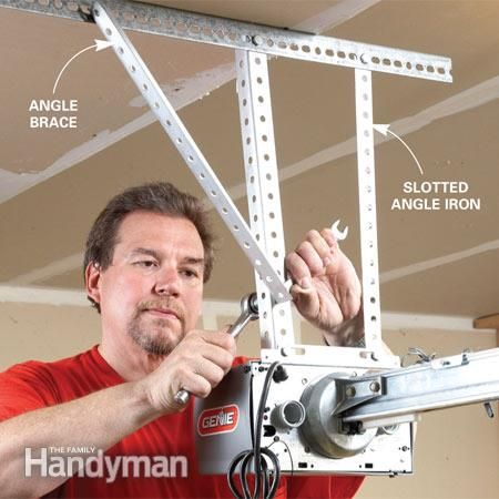 How To Install A Replacement Garage Door Opener Garage Door