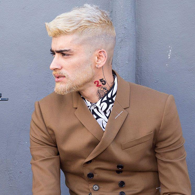 Zayn Malik S New Hair Color Is A Classic Breakover Move Zayn