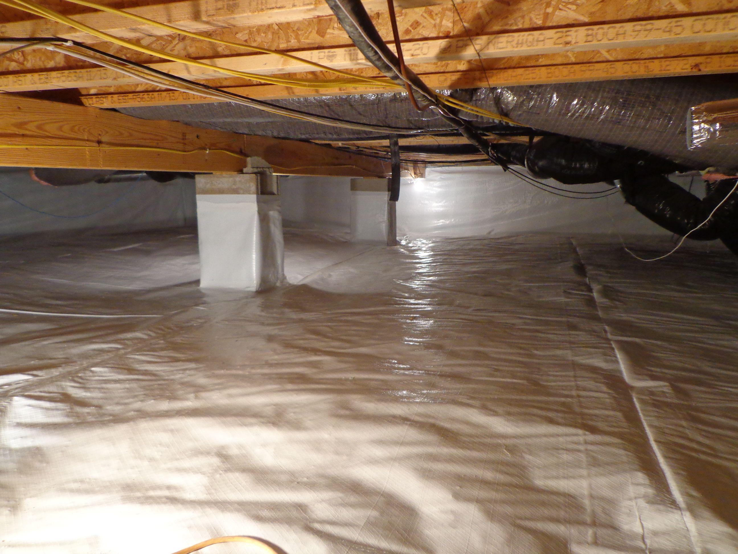 Prevent Cold Floors And Save Money On Heating Bills This Winter By Encapsulating Your Crawle Give Us A Call 317 893 7016 For Free Estimate