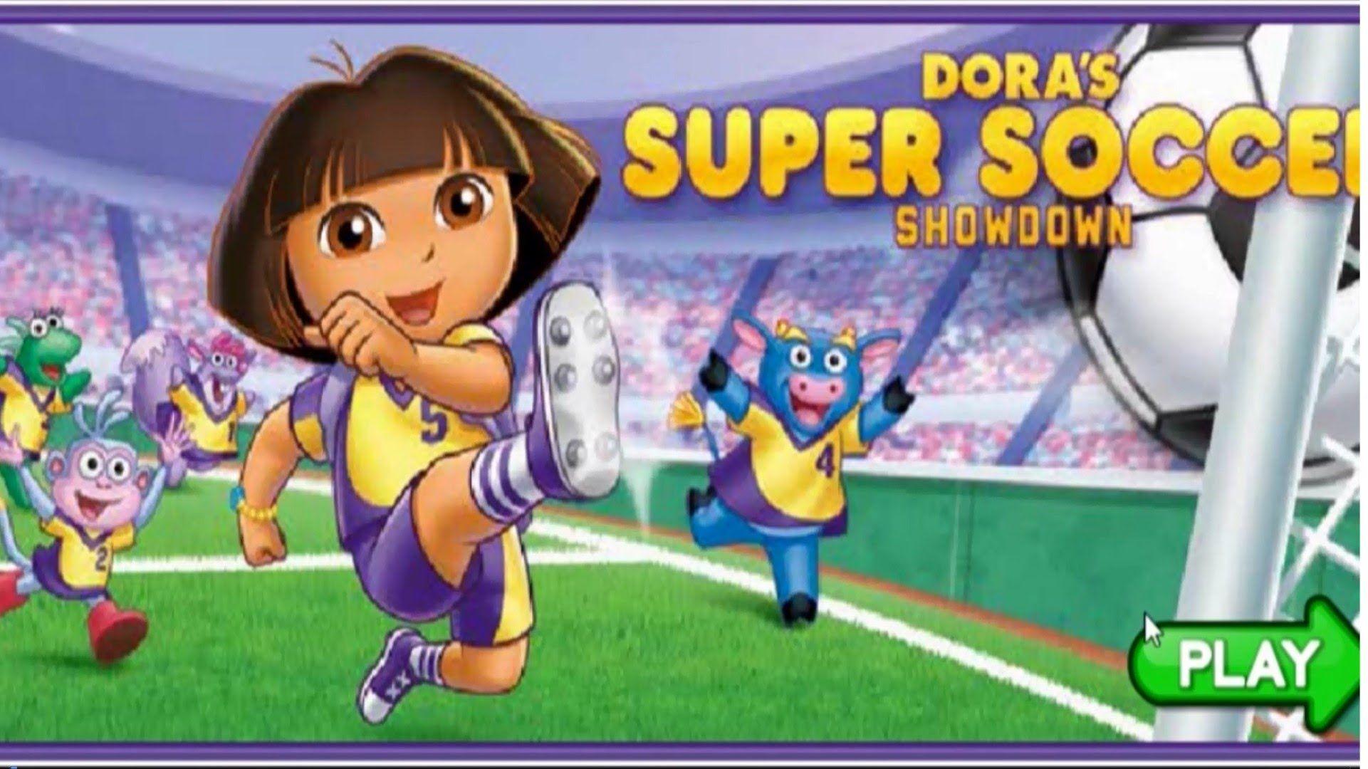 Games For Kids Video Games Dora's Super Soccer Showdown