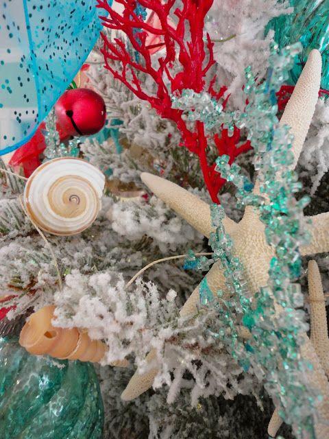 Everything Coastal It S A Sea Turquoise Christmas Turquoise Christmas Coastal Christmas Decor Holiday Decor Christmas