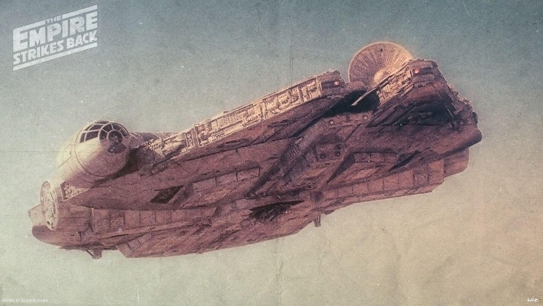 Spectacular Millennium Falcon Illustration By Paul Johnson — GeekTyrant