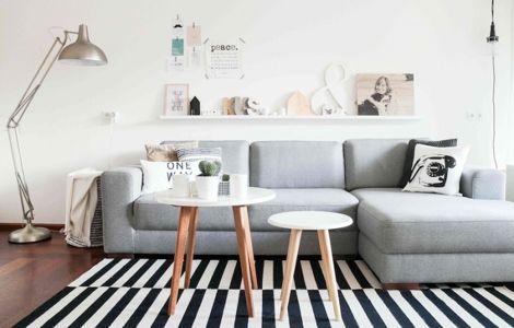 Cómo Decorar una Sala al Estilo Nórdico littlehaeven Pinterest
