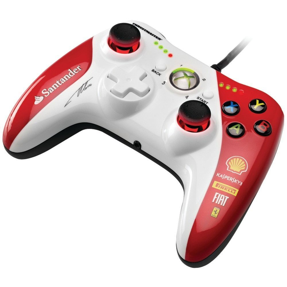 THRUSTMASTER 4460098 Xbox 360(R)/PC GPX LightBack Ferrari(R) F1 Edition Gamepad