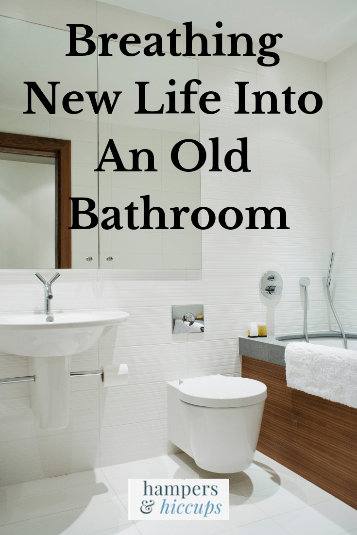 Breathing New Life Into An Old Bathroom In 2020 Old Bathrooms