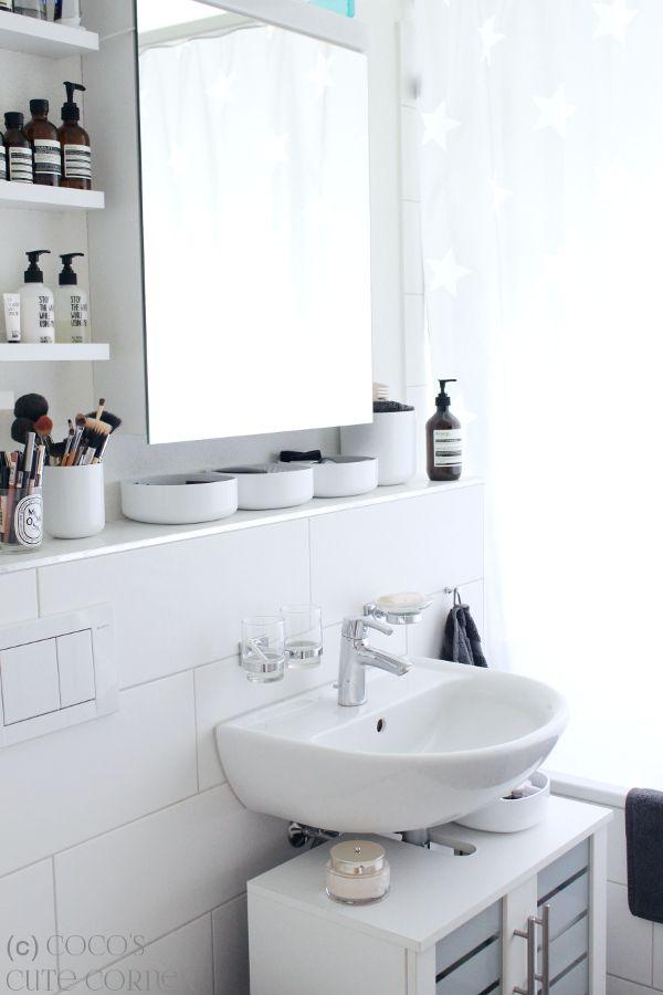 Badezimmer - Tipps für das kleine Bad Pinterest Bathroom storage - kleine badezimmer design