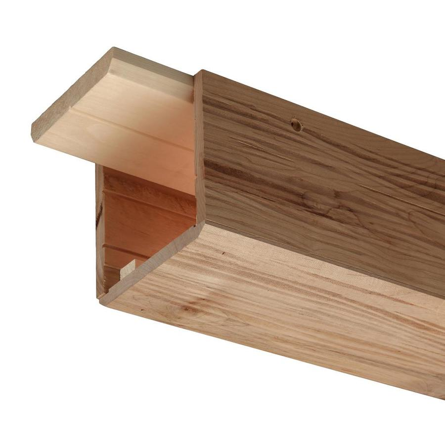 Ornamental 5 In X 5 In X 96 In Unfinished Wood Decorative Beam Lowes Com Wood Beam Ceiling Faux Wood Beams Faux Beams