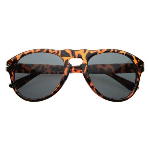c591646ee5b3 zeroUV Vintage Inspired P3 Round Horn Rimmed Sunglasses Tortoise Shell      Click image to review more details.Note It is affiliate link to Amazon.