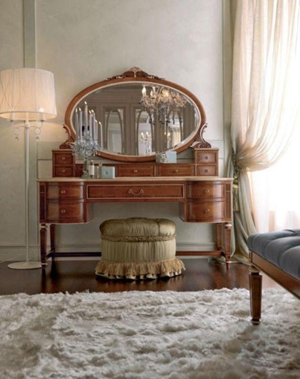 Unique and Feminine Dressing Table Models of Exquisite Bedroom ...