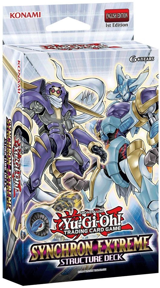 YuGiOh Synchron Extreme Structure Deck Card games