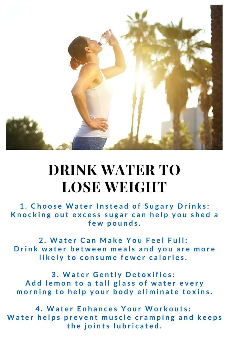 lose a lot of water weight fast
