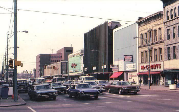Downtown Hamilton Around 1969 Ohio Cincinnati Downtown