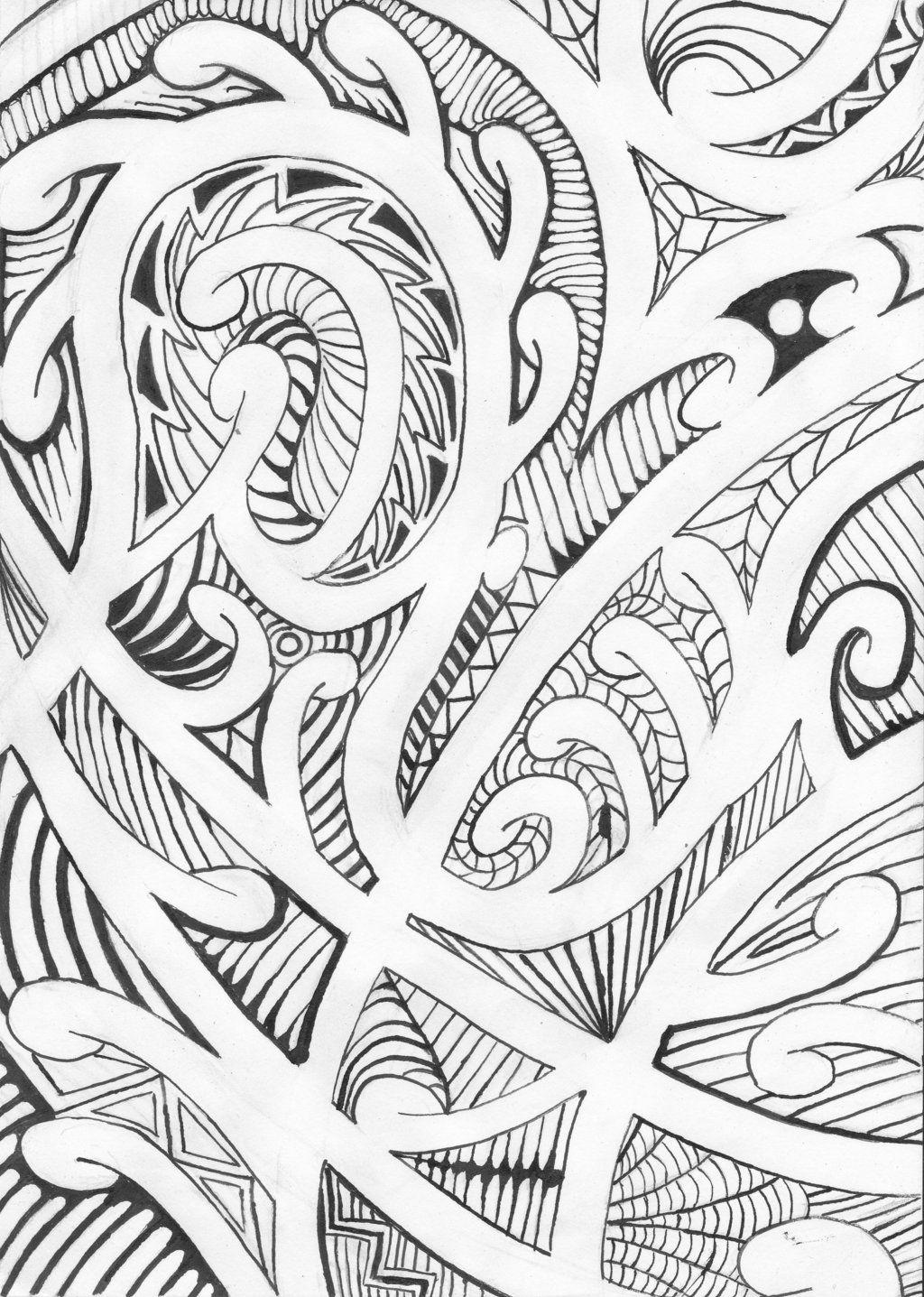 Maori Designs And Patterns