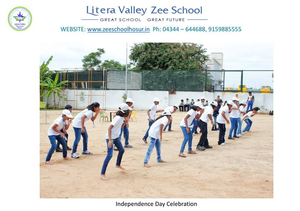 Litera Valley Zee School In The Hosur Is Known As One Of The