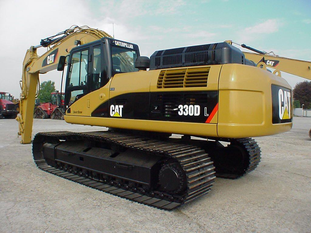 hight resolution of caterpillar 330d l excavator