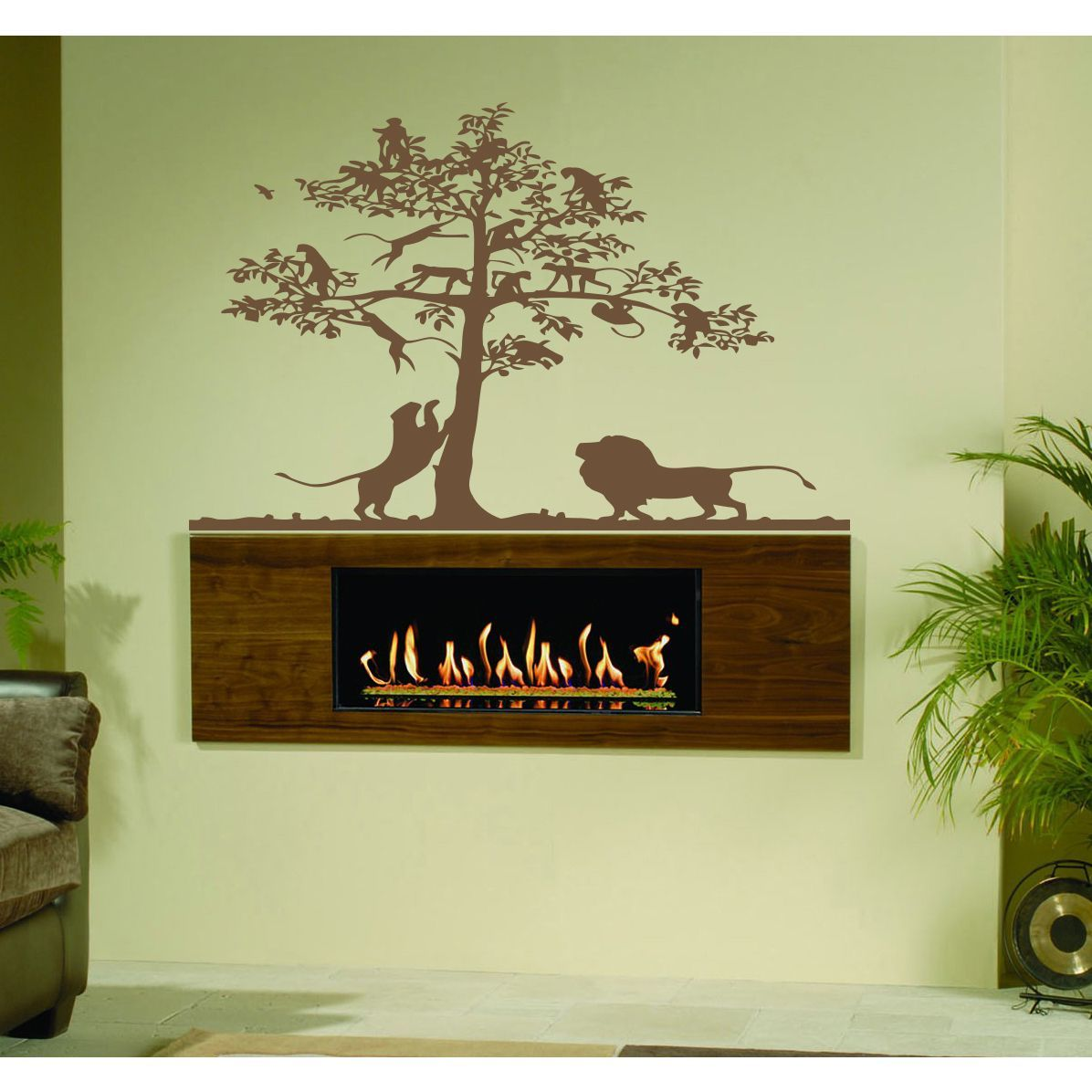 Safari Africa Nature Wall Art Sticker Decal | Products | Pinterest ...