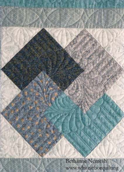 24 new Ideas longarm quilting designs squares color combos #modernquiltingdesigns