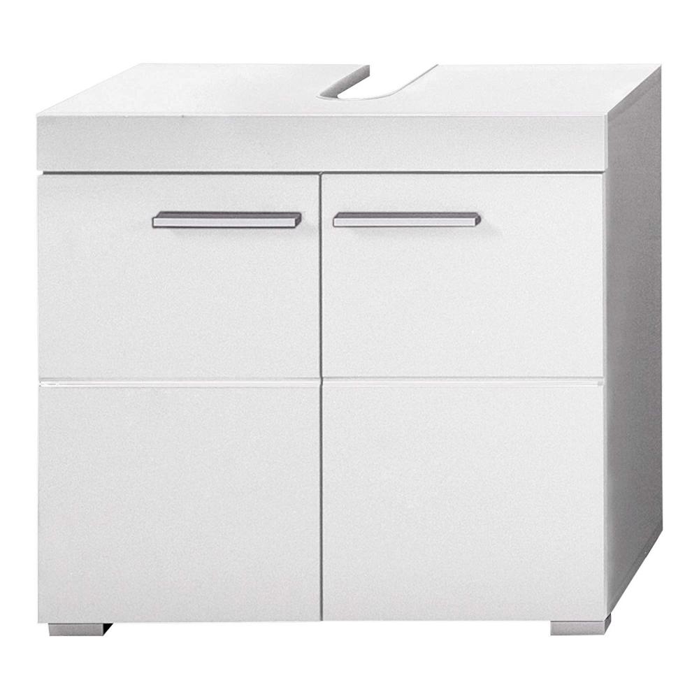 Trendteam Smart Living Badezimmer Waschbeckenunterschrank Unterschrank Amanda 60 X 56 X 34 Cm In Weiss Weich Hoc Unterschrank Waschbeckenunterschrank Schrank