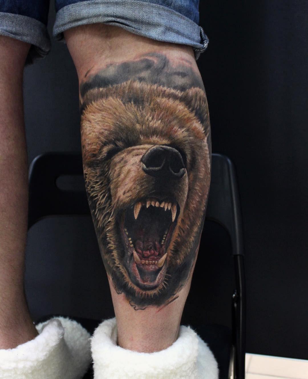 Tattoo Bear Tatts Tatuaje Maori Tatuajes Mejor Tatuaje