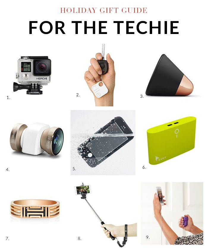 Holiday Gift Guide 2014: Gifts for the Techie | Nicole Gibbons Style ...